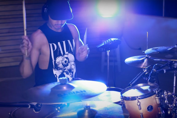 Justin-Fimmel drum playthrough of Scorned by Ghosts Over Japan - Videographer Aaron Ashley